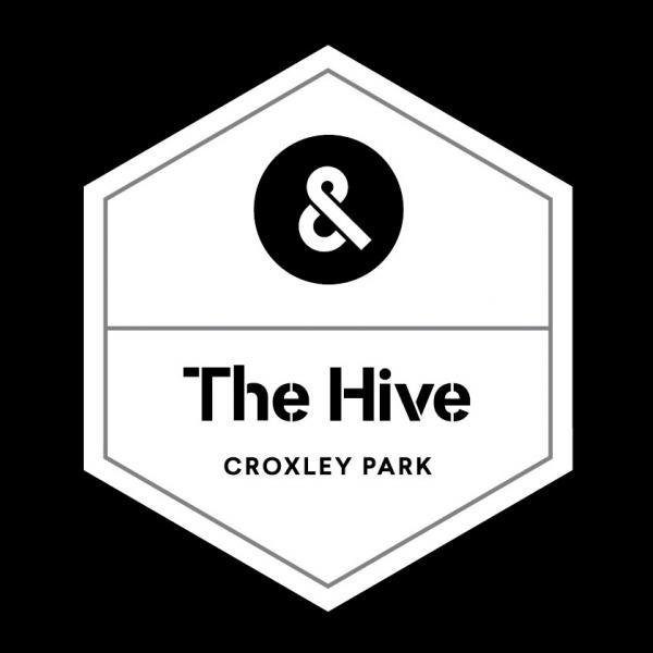 The Hive Logo Bw